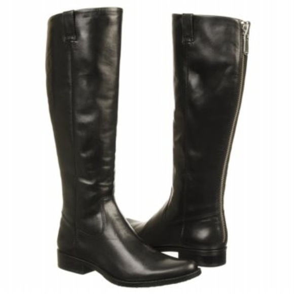 Calvin Klein Tamryn Black Leather To